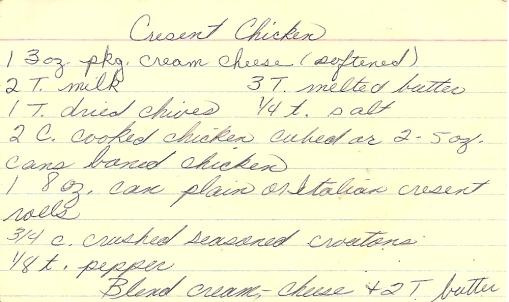 Cresent chicken 1
