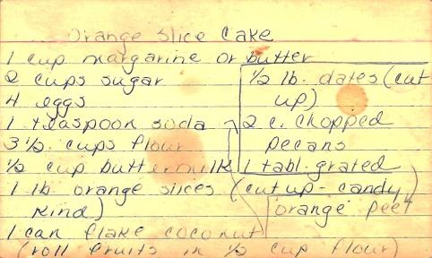 Orange Slice Cake 1