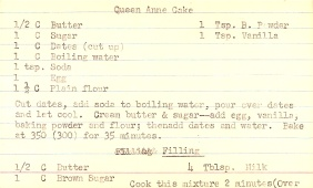 Queen Anne Cake