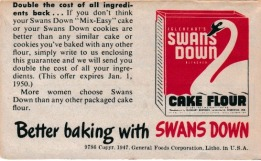 Ad-Swans Down
